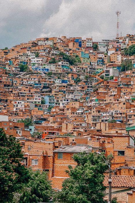 Medellin slum