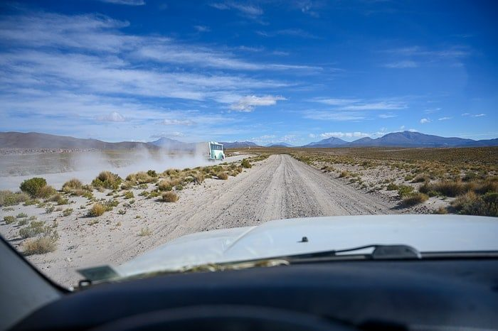 cesta v boliviji