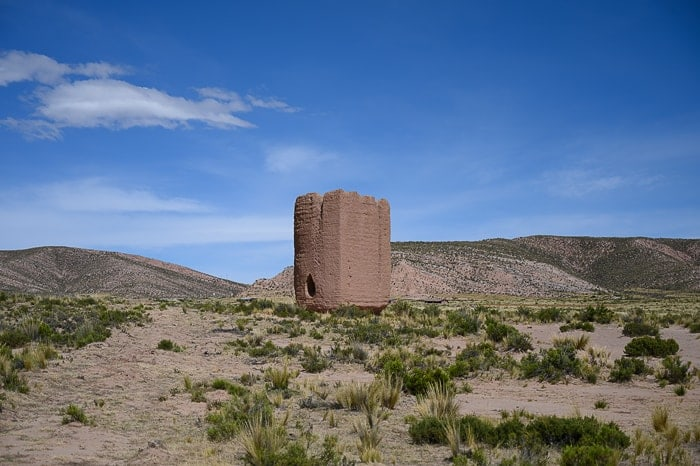chullpa, pogrebni stolp
