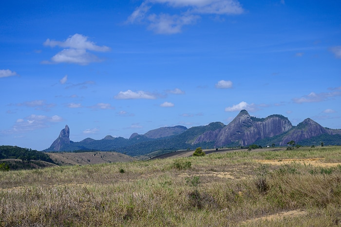 granitne gore v Braziliji