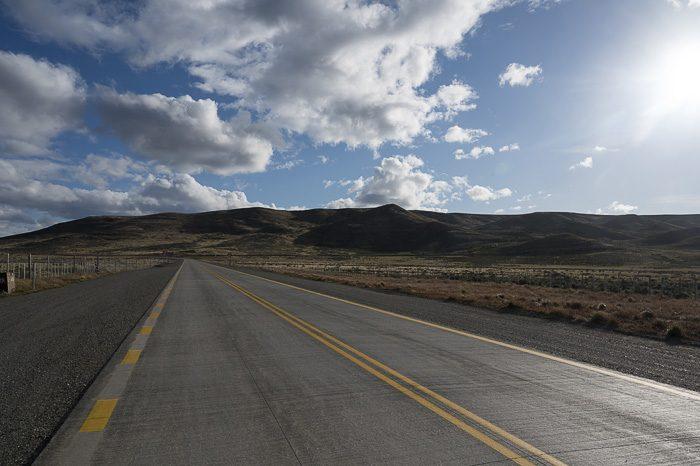 cesta na ognjeni zemlji, Čile