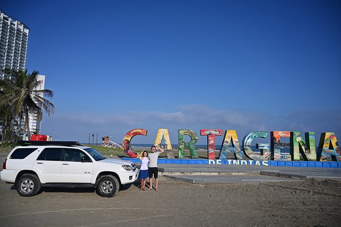 Toyota 4runner v Cartrageni