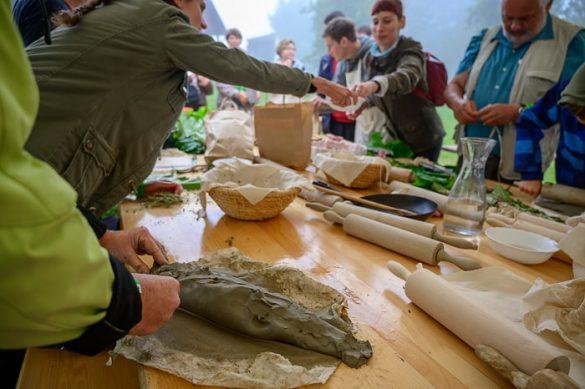 priprava ribe v glini