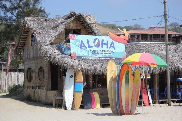surf school Montanita