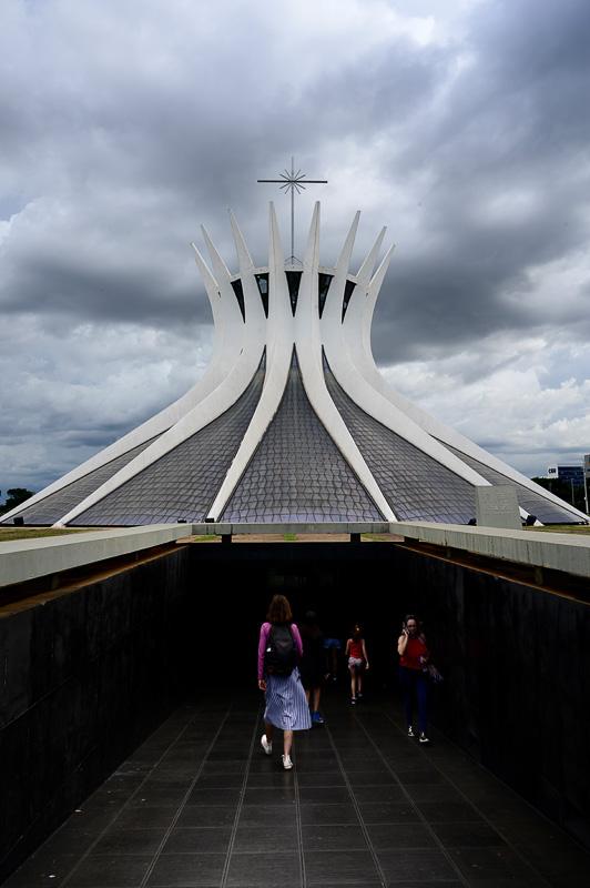 vhod v brazilsko katedralo