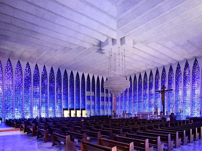 cerkev Don Bosco, Brasilia