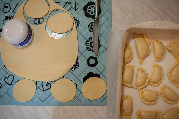 izdelava argentinskih empanad