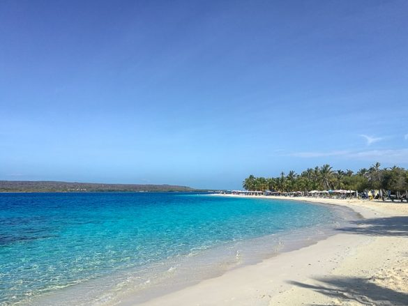 karibska plaža Morrocoy, Venezuela