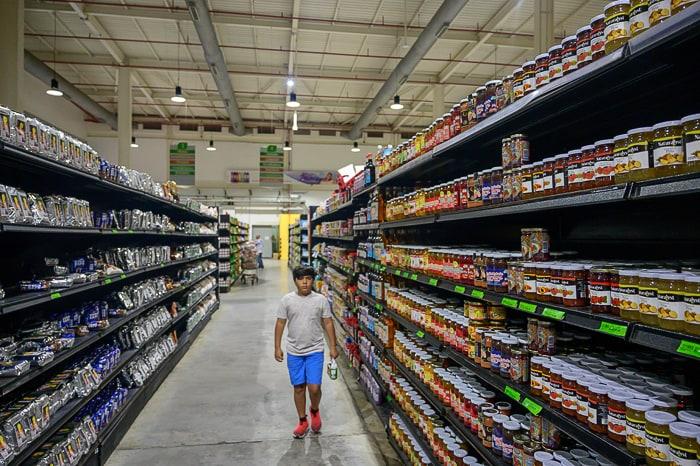 supermarket trgovina v Venezueli