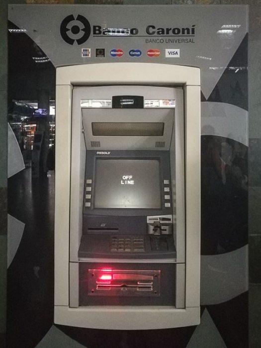Off line bankomat v Venezueli