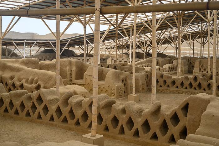 arheološko najdbišče mesto Chan Chan