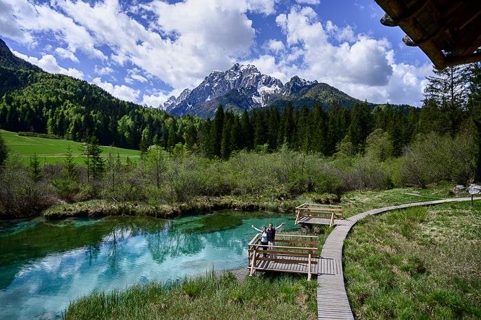 izvir reke Save, Zelenci, Slovenija