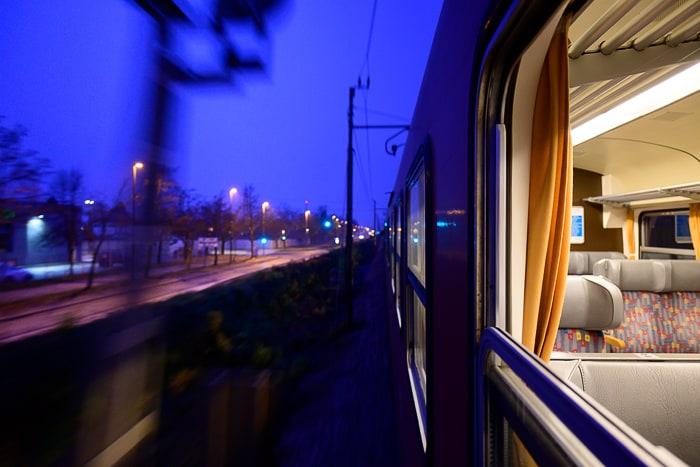 jutro na vlaku