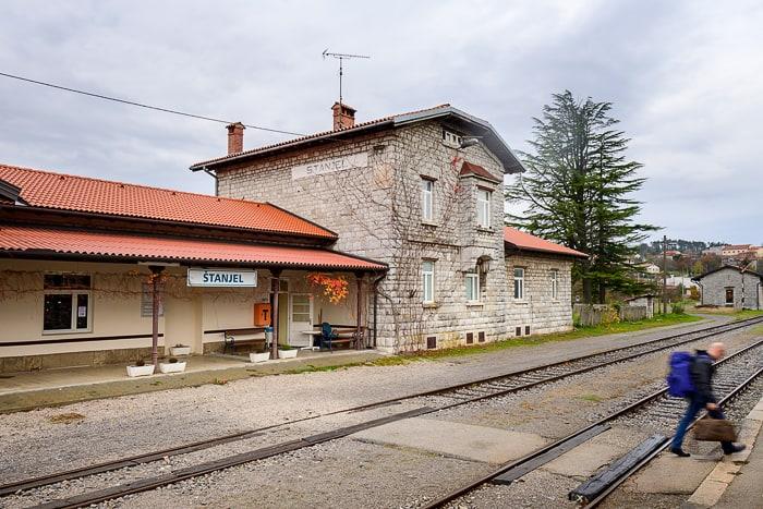železniška postaja Štanjel