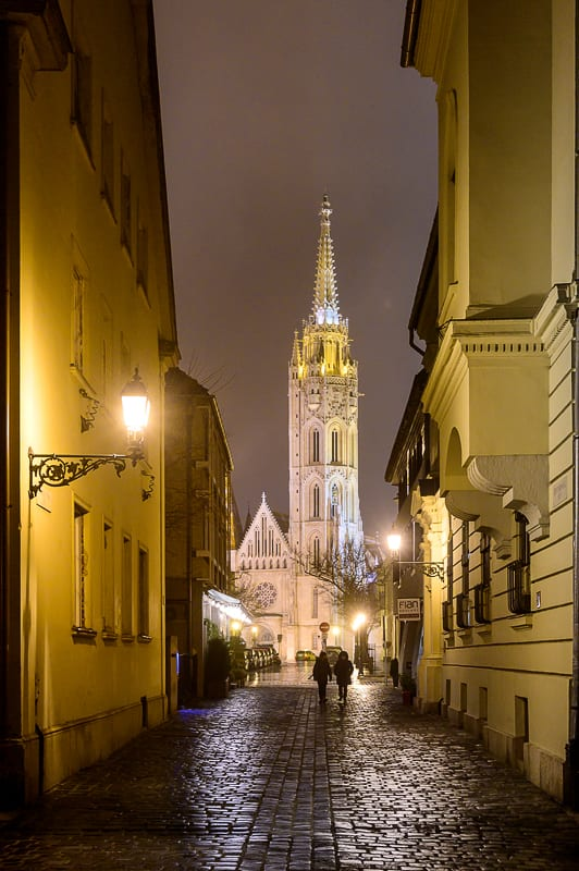 gotska cerkev sv. Matije v Budimpešti
