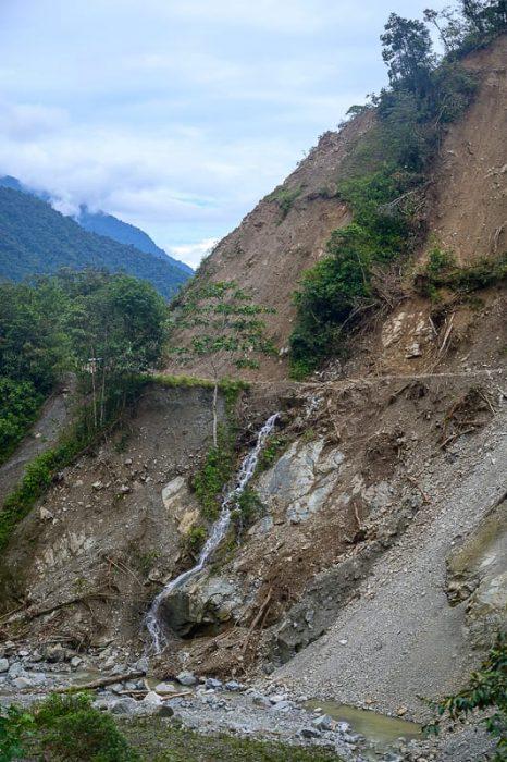 makadamska cesta ekvador top 5
