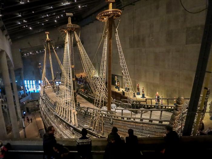 ladja Vasa in muzej Vasa, Stockholm