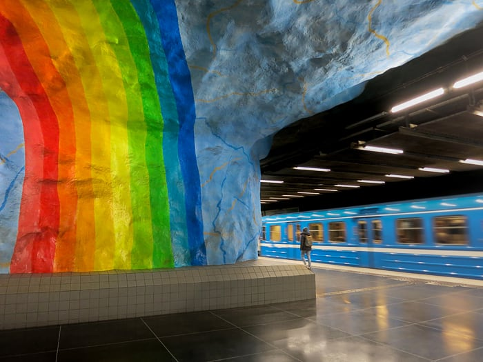 Postaja Stadion, Stockholm metro
