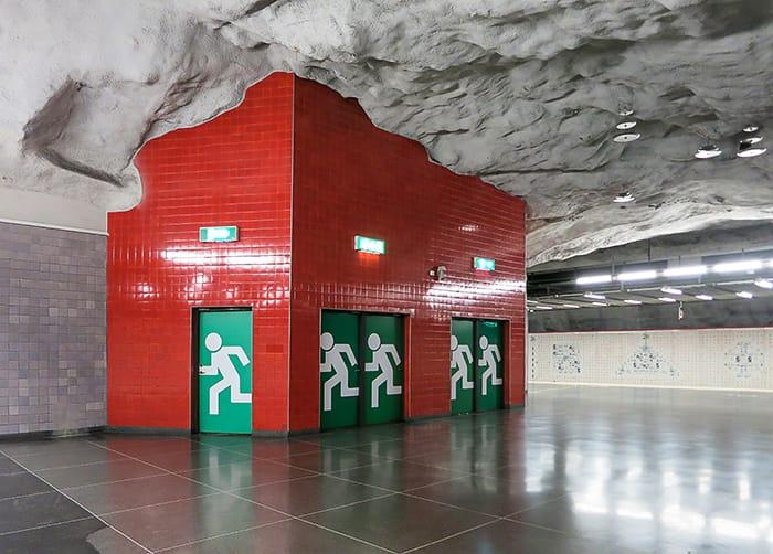 Universitet metro, Stockholm