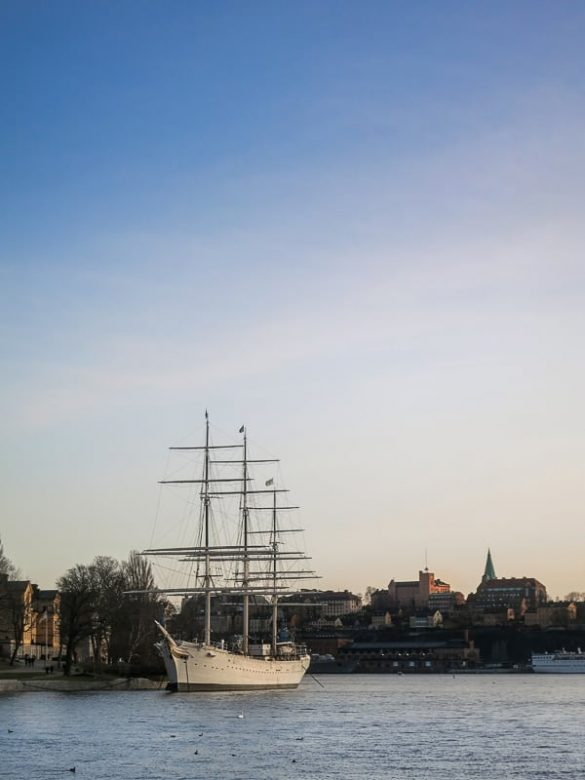 ladja af Champman, Stockholm