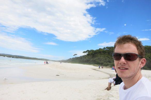 plaža hyams beach