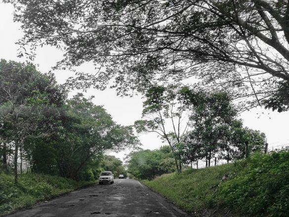 luknjasta cesta Kolumbija
