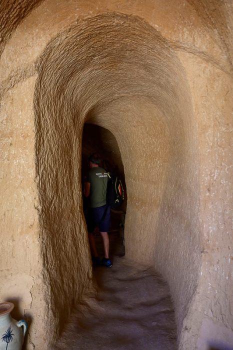 tunel v podzemno hišo Matmata