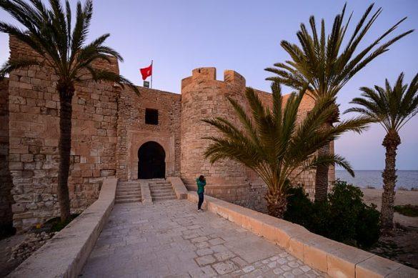 utrdba otok Djerba, Tunizija