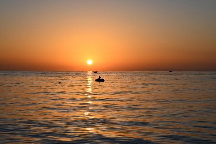 sončni vzhod na Djerbi