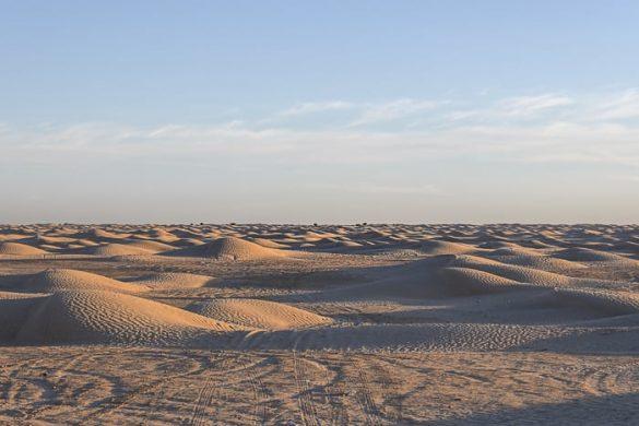 peščene sipine, Sahara, Tunizija