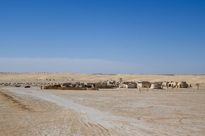 Star Wars scena Tunizija