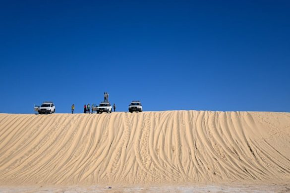 toyota landcruiser na sipini, Sahara