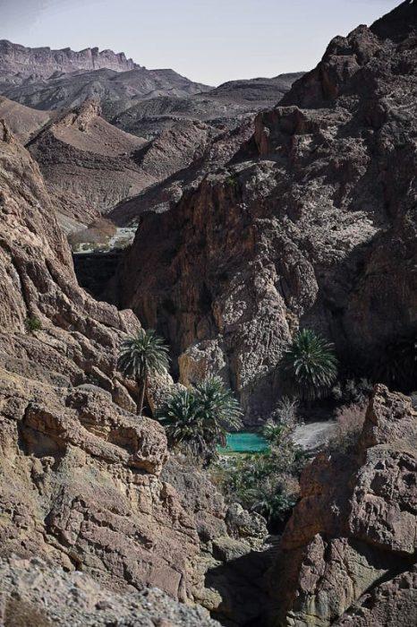 gorska oaza Chebika, Tunizija