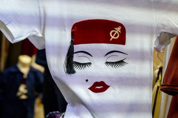 souvenir majica iz Tunizije