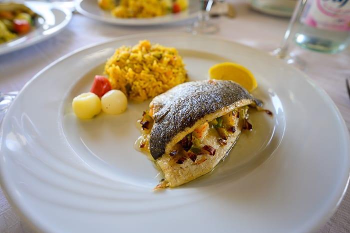 morska hrana v Tuniziji