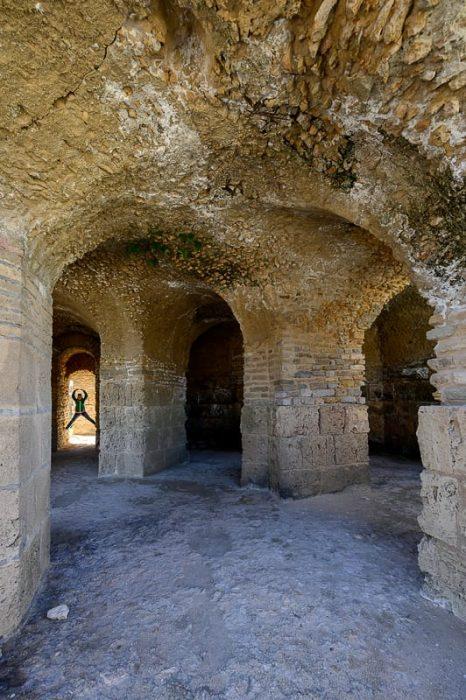 ruševine mesta kartagina, tunizija