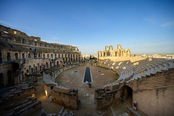 amfiteater El Jem, Tunizija