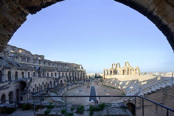 Top znamenitosti Tunizije: El Jem amfiteater
