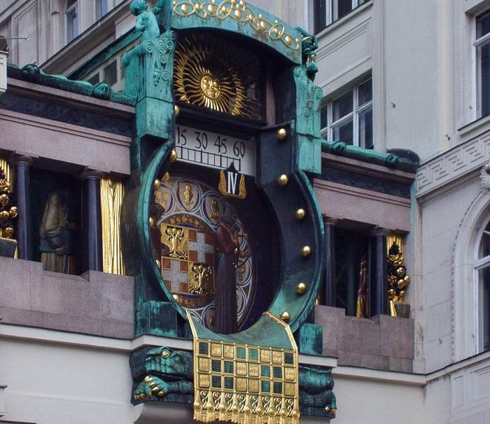 ankeruhr, ura na Dunaju