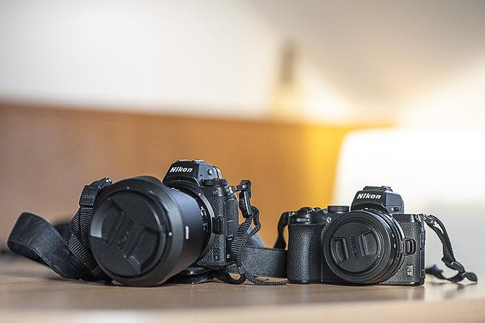 Nikon Z50 in Nikon Z6