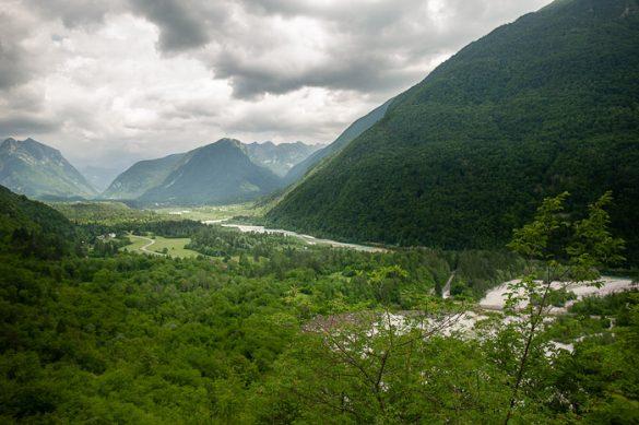 dolina reke soče