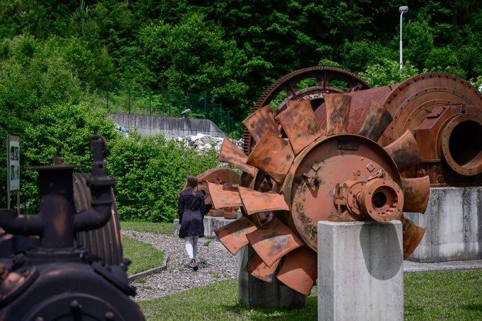 muzej na prostem rudnik urana Žirovski vrh