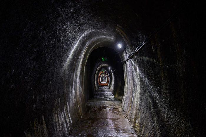 Bunker goli vrh, tunel