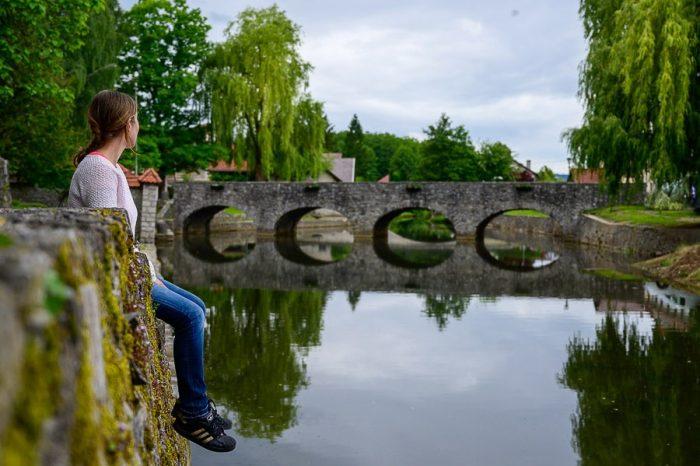 most na Bistrici, Ribnica