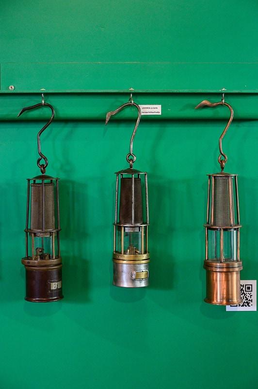 rudarske svetilke