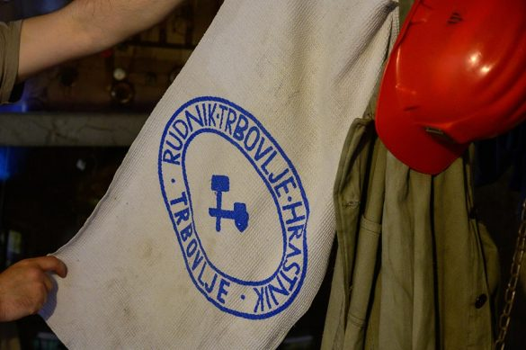 Originalna brisača rudarjev v rudniku Trbovlje