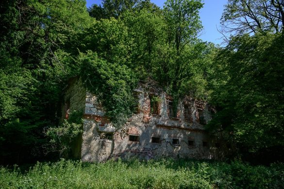 ruševine Medijskega gradu