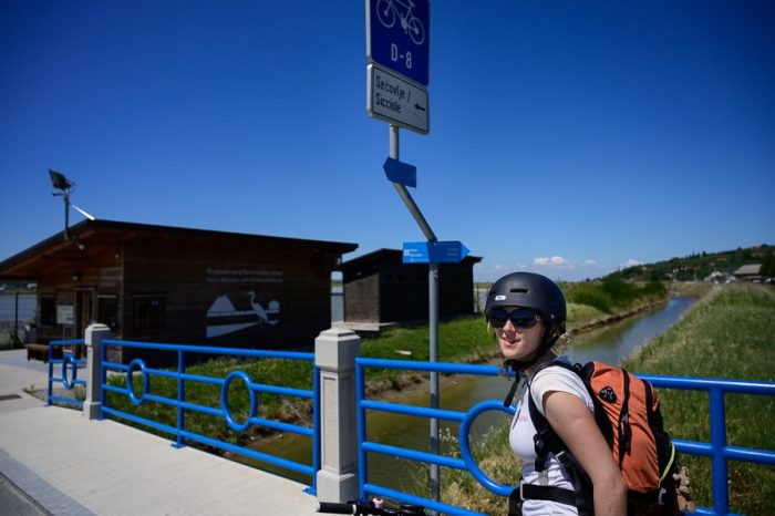 sečovlje, kolesarska pot