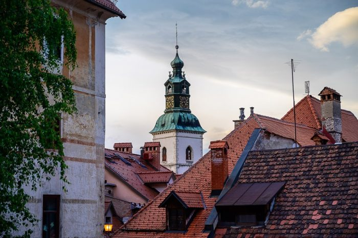 srednjeveško mesto Škofja loka