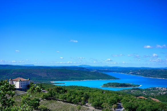 jezero St. Croix, Verdon, izlet v Francijo
